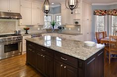 grimmersborough lane kitchen, home improvement, kitchen design, storage ideas Cheap Granite Countertops, Granite Kitchen, Granite Bathroom, Cabinets To Ceiling, Painting Kitchen Cabinets, Sienna Bordeaux Granite, Kitchen Pictures, Kitchen Ideas, Traditional Kitchen