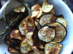 Natural zucchini chips!