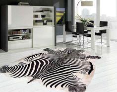 Alfombra Piel Cebra - Alfombras Imitación Piel - Alfombras Piel Natural Outdoor Furniture Design, Deco Furniture, Piel Natural, Bed Lights, Hotel Bed, Exterior Design, Animal Print Rug, Rugs, Interior