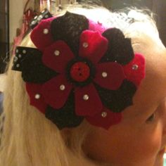 Headband that Sissy Poo helped me make