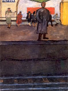 J. Czapski, Metropolitana Pasteur, 1953, olio su tela