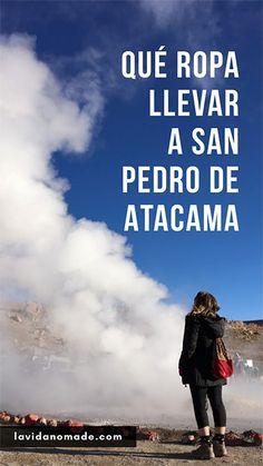 Qué ropa llevar a San Pedro de Atacama para un viaje de 3 días #atacama #sanpedrodeatacama #chile #viajar #ropa San Pedro Atacama, Puerto Octay, South America Travel, Time Travel, Trekking, Places To Visit, Around The Worlds, Travel Blog, Poster