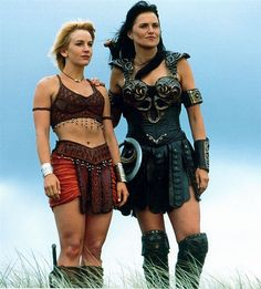 I really want to do is Xena and Gabrielle cosplay but with the later Gabrielle not the earlier one