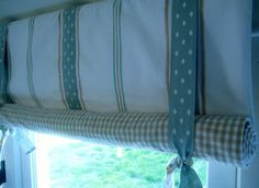 For this post we thought we would share how to make a Rolled-up blind. We love this simple window treatment as it enables you to incorpo...