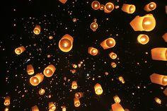 Lantern Festival, Chiang Mai, Thailand...