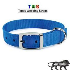 ‪#‎MakeinINDIA‬ ‪#‎GoradiaIndustries‬ ‪#‎Tapeswebbingstraps‬ Blue dog collar for your dogs safety,comfort & style must visit to our website http://tapeswebbingstraps.in/ For more details click on the below link or call us on +9833884973/9323558399 http://tapeswebbingstraps.in/product-category/dog-collars/