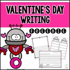 These free Valentine's Day writing pages are a small sampling of myValentine's Day Writing product.Included:- writing paper with space to draw a picture - I love making... list template- I love reading... list template- friendly letter templateEnjoy!Other Valentines Day products you may be interested in:Valentine's Day ActivitiesCVCe Games and PrintablesFREE Chocolate Covered ContractionsIf you have any questions, please email me at lacesandcookies@gmail.comBe sure to follow me for sales…
