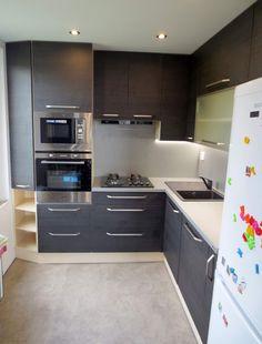 Kitchen Dining, Kitchen Cabinets, Modern Kitchen Interiors, Flat Ideas, Organization Hacks, Hygge, House Design, Home Decor, House Decorations