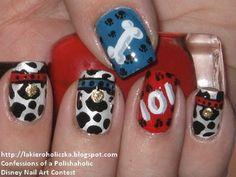 Love these - Disney Nail designs