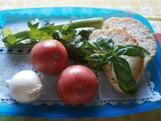 Italské střípky: Panzanella Baked Potato, Potatoes, Eggs, Baking, Vegetables, Breakfast, Ethnic Recipes, Food, Morning Coffee