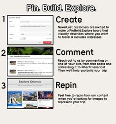 Build My Trip by Pinterest – Contact us directly through Pinterest to ask us to build your trip. This takes 3 steps. #travel #tripplanning