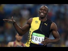 Usain Bolt wins 100m Gold To Complete First Part Of 'Triple-Triple' Atte...