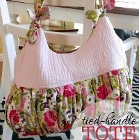 Sewing: Tied-Handle Tote Bag