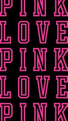 LOVE Pink Victoria's Secret wallpaper VS Homescreen wallpaper