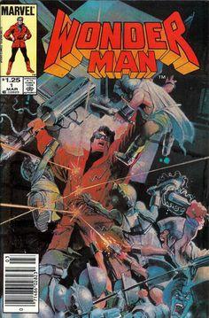 Wonder Man (Mar Marvel) for sale online Best Comic Books, Marvel Comic Books, Comic Book Characters, Comic Books Art, Comic Art, Marvel Comics, Book Cover Art, Comic Book Covers, Book Art