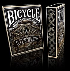 bicycle tuck box for steampunk playing cards
