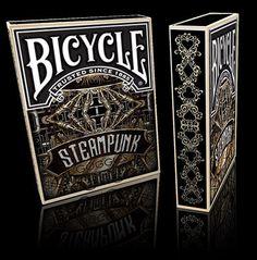 USPCC Bicycle Playing Card Deck on #Kickstarter #steampunk #goggledeck