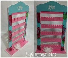 Jupi Artes: Porta Brincos