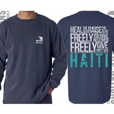mission trip fundraising t-shirt fund the nations