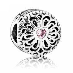 Authentic 925 Sterling Silver Bead Charm Openwork Filigree Love & Friendship Beads Fit Pandora Bracelet Diy Jewelry #Affiliate