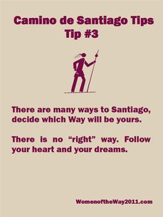 Camino Tip No. 3: Choose your route | Women of the Way