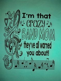 Southern Chics Crazy Band Mom Everyone Warned You About Girlie Comfort Colors Bright T Shirt Available in sizes Adult Picture is of the back of the shirt, Front of the shirt has southern chics lo Marching Band Quotes, Marching Band Mom, Flute Shirts, Simply Cute Tees, Band Mom Shirts, Simply Southern T Shirts, Band Nerd, Band Camp, Band Pictures