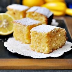 "Lemon & Coconut ""Brownies"" - brownies without chocolate. Can they still be called brownies?"