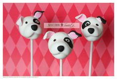 Puppy Love Cake Pops