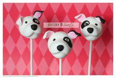 Puppy Love Cake Pops