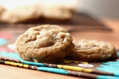 Barefeet In The Kitchen: Brown Butter Chocolate Chip Macadamia Nut Cookies