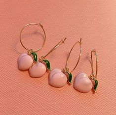 March 27 2020 at Peach Aesthetic, Aesthetic Colors, Aesthetic Pictures, Angel Aesthetic, Aesthetic Style, Cute Earrings, Pearl Earrings, Drop Earrings, Cute Jewelry