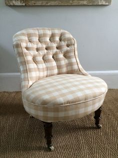 Victorian Nursing Chair. Nursing Chair, Parlour, Accent Chairs, Upholstery, Sweet Home, Victorian, Stuff To Buy, Furniture, Home Decor