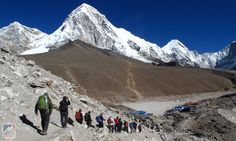 Everest Base Camp Treks | Mission Nepal Holidays Cho Oyu, Hotel World, Everest Base Camp Trek, Stay Overnight, Pine Forest, Natural Scenery, Pilgrimage, Great View, World Heritage Sites