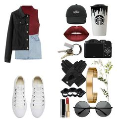 """i've been up all night, no sleep"" by nat-s-x ❤ liked on Polyvore featuring Glamorous, Bill Blass, Converse, Vans, Lime Crime, CO, OKA, CB2, Dents and Le Gramme"