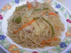 Pancit, a Philipino delicacy. I make it like once a week lol.
