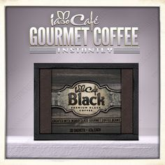 Iaso™ Cafe Black  Once you've had Black, you'll NEVER go back to your traditional dark blend again. Iaso™ Café Black combines a dark rich blend of premium world-class coffee beans with the health benefits of the mighty Reishi Mushroom (ganoderma extract).