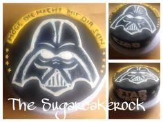 Darth Vader Cake Darth Vader, Birthday Cake, Desserts, Food, Recipies, Tailgate Desserts, Deserts, Birthday Cakes, Essen