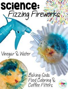 Fizzing fireworks sc