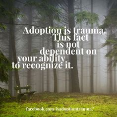 I guess it can be. I've got a lot of problems bc of being adopted...fear of abandonment is one