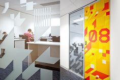 AICT Office Environmental Graphics by The Globe