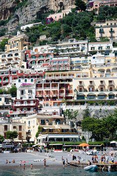 Positano, Italy - Where's the ski lift?