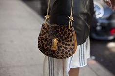 Our Chloe Drew Bag spotted at #NYFW. #Chloe