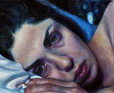 "Dopamine (Pillow Talk) 10"" x 12"" Oil on Linen"