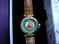 Disney Winnie The Pooh Fossil Watch New from Old Stock 1990'S