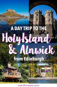 Edinburgh is the perfect hub to explore Scotland and the north of England. Try this day trip to Holy Island and Alnwick Castle with Timberbush Tours!