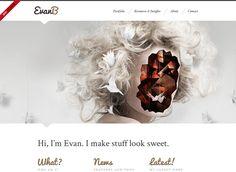 Webdesign Inspiration: 20 wunderschöne Webseiten mit Parallax Scrolling Effekten » Frisch Inspiriert