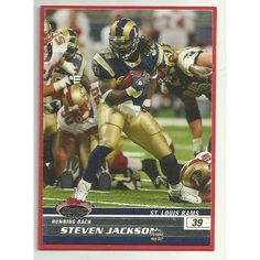 NFL Football Card St Louis Rams S. Jackson Stadium Club 2008 Listing in the Non-Graded,2000-2010,Singles,NFL,Football (American),Sports Cards & Stickers,Sport Memorabilia & Cards Category on eBid United Kingdom | 137603206