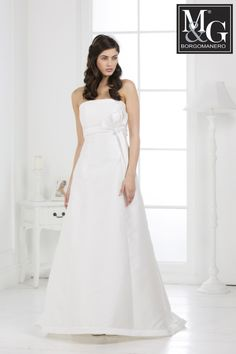 Redingote in mikado di seta Redingote wedding dress Collezione Fashion M&G Borgomanero