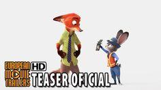 Zootrópolis Tráiler Teaser Oficial España (2016) - Disney Animación HD