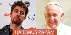 Peter Sagan a voulu convertir le pape François au cyclisme. En vain  https://todaycycling.com/pape-francois-peter-sagan/